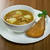 patates · mantar · çorba · ev · yapımı · otlar · içinde - stok fotoğraf © fanfo