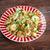 caril · ovos · verde · salada · branco · prato - foto stock © fanfo