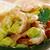 avokádó · Seattle · saláta · mustár · mártás · tálca - stock fotó © fanfo