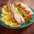 アメリカン · サラダ · 鶏 · 卵 · トマト · 料理 - ストックフォト © fanfo