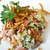 ternera · patatas · restaurante · rojo · carne · tenedor - foto stock © fanfo