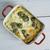 lasagne · vegetáriánus · pirított · fenyőfa · diók · olvad - stock fotó © fanfo