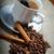 kávéscsésze · bab · fűszer · felső · kilátás · űr - stock fotó © fanfo