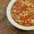tyúk · zöldbab · kukorica · zöldség · étel · edény - stock fotó © fanfo