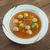 leves · húsgombócok · zöldségleves · tyúk · tányér · hús - stock fotó © fanfo