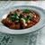 americano · prato · molho · de · tomate · comida · fundo - foto stock © fanfo