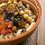 エジプト人 · 皿 · コメ · マカロニ · 混合した - ストックフォト © fanfo