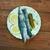 sózott · hagymák · asztal · kenyér · tányér · halászat - stock fotó © fanfo