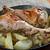 Törökország · láb · sült · krumpli · vidék · konyha - stock fotó © fanfo