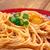 pasta · gekookt · geserveerd · saus · wijn - stockfoto © fanfo