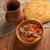antiquado · carne · guisada · caseiro · americano · carne · pão - foto stock © fanfo