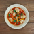 spinazie · tortellini · tomatensaus · voedsel · vers · kant - stockfoto © fanfo