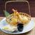 japán · sült · Seattle · étel · főzés · ebéd - stock fotó © fanfo