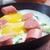 fransız · tost · yumurta · iki · parçalar - stok fotoğraf © fanfo