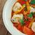 шпинат · Пельмени · томатном · соусе · продовольствие · свежие · кружево - Сток-фото © fanfo