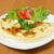 szynka · pomidorów · zielone · Sałatka · jedzenie - zdjęcia stock © fanfo