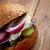 szendvicsek · hagyma · cékla · hal · kenyér · saláta - stock fotó © fanfo