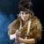 meisje · zwaard · mode · haren · portret · retro - stockfoto © fanfo