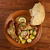 лимона · куриные · хрустящий · картофель · хлеб · приготовления - Сток-фото © fanfo