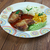 kotlett · disznóhús · krumpli · étel · hús · ebéd - stock fotó © fanfo