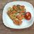 куриные · соус · жареный · продовольствие · фон · мяса - Сток-фото © fanfo