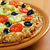 maison · pizza · tomate · aubergine · fromages - photo stock © fanfo