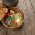 ürü · hús · zöldségek · tányér · sárgarépa · zöldség - stock fotó © fanfo