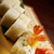 japanese sushi made of smoked fish and sesam stock photo © fanfo