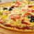 ev · pizza · domates · patlıcan · sığ - stok fotoğraf © fanfo