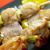 традиционный · куриные · огня · счастливым · мяса · Японский - Сток-фото © fanfo