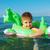 kicsi · fiú · tenger · szőke · egyéves · ül - stock fotó © fanfo
