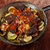 zöldségek · pörkölt · szeletek · padlizsán · paprikák · krumpli - stock fotó © fanfo