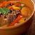 marhahús · leves · zöldségek · közelkép · lövés · konyha - stock fotó © fanfo