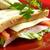 frescos · camarón · tomate · lechuga · ensalada - foto stock © fanfo