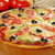 maison · pizza · paprika · olive · peu · profond - photo stock © fanfo