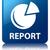 report graph icon glossy blue reflected square button stock photo © faysalfarhan