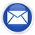 niebieski · przycisk · Internetu · internetowych · mail - zdjęcia stock © faysalfarhan