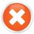 icono · naranja · botón · signo · web · blanco - foto stock © faysalfarhan