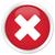 icono · rojo · botón · signo · web · blanco - foto stock © faysalfarhan
