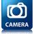 kamera · parlak · mavi · kare · düğme · dijital - stok fotoğraf © faysalfarhan