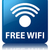 free wifi glossy blue reflected square button stock photo © faysalfarhan