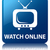 watch online tv icon glossy blue reflected square button stock photo © faysalfarhan