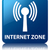 internet zone wlan network icon glossy blue reflected square stock photo © faysalfarhan