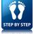 passo · crescimento · negócio · escada · subir · conceito - foto stock © faysalfarhan