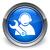 Tech · поддержки · икона · синий · кнопки · бизнеса - Сток-фото © faysalfarhan