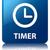 タイマー · クロック · 青 · 広場 · ボタン - ストックフォト © faysalfarhan