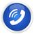 telefon · ikon · mavi · düğme · telefon · web - stok fotoğraf © faysalfarhan