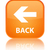 Back glossy orange reflected square button stock photo © faysalfarhan