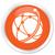 globalny · sieci · ikona · pomarańczowy · przycisk · Internetu - zdjęcia stock © faysalfarhan