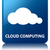 Cloud computing glossy blue reflected square button stock photo © faysalfarhan